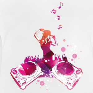 Concert with dancing women, House, electro Shirts - Baby T-Shirt