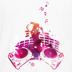 Concert with turntables, rap, electro, equalizer Tops - Men's Premium Longsleeve Shirt
