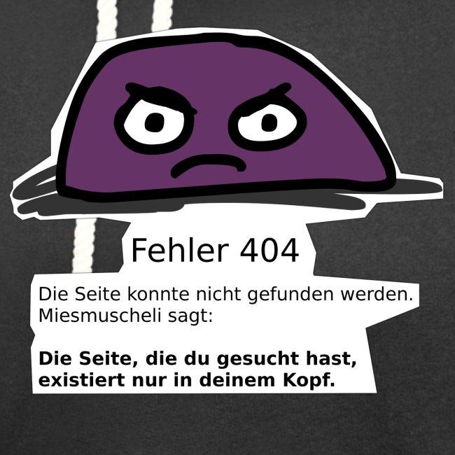 Fehler 404 Miesmuscheli