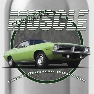 Teenage Premium T-Shirt Plymouth Barracuda | Cla - Water Bottle