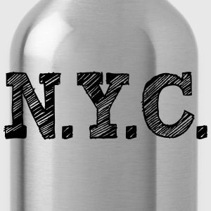 NYC New York City T-Shirts - Trinkflasche