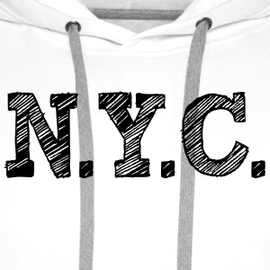 NYC New York City T-Shirts - Männer Premium Hoodie