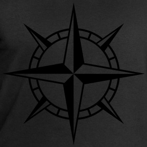 Wind Rose Cross T-Shirts - Men's Sweatshirt by Stanley & Stella