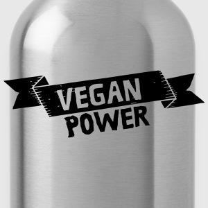 Vegan Power Magliette - Borraccia