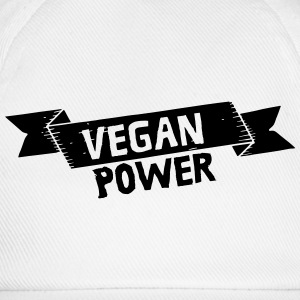Vegan Power T-shirts - Basebollkeps