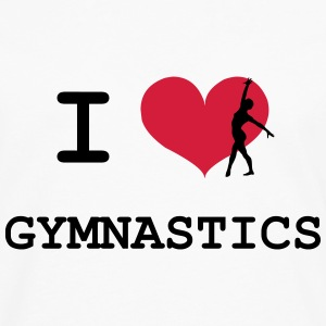 I Love Gymnastics Tee shirts - T-shirt manches longues Premium Homme
