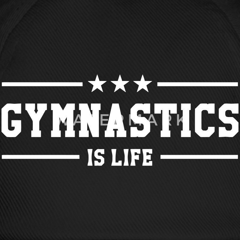 Gymnastics is life Caps & Hats - Baseball Cap