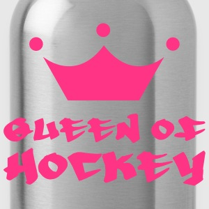 Queen of Hockey Hoodies - Water Bottle