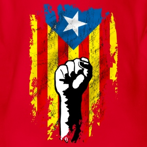 catalunya power Tee shirts - Body bébé bio manches courtes