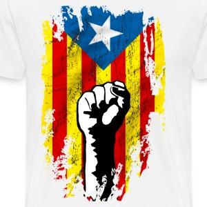catalunya power Manches longues - T-shirt Premium Homme