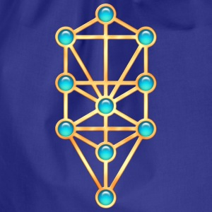 Sephiroth, Kabbalah, Tree of Life, Creation T-Shir - Sportstaske