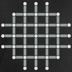 Optical illusion, Find the black dot! T-shirts - Sweatshirt herr från Stanley & Stella