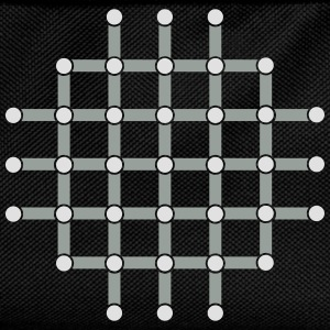 Optical illusion, Find the black dot! T-Shirts - Kids' Backpack