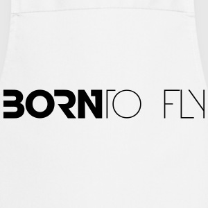 Born to Fly Heli Design T-Shirts - Cooking Apron