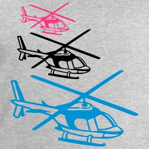 3 helicopter team crew pattern T-Shirts - Men's Sweatshirt by Stanley & Stella