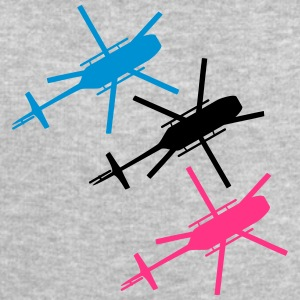 3 helicopters from top view top T-Shirts - Men's Sweatshirt by Stanley & Stella