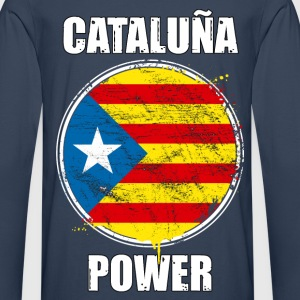 cataluña power 02 Tee shirts - T-shirt manches longues Premium Homme