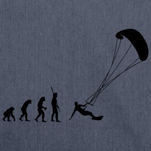 Evolution kite surfing T-shirts - Axelväska av återvinningsmaterial