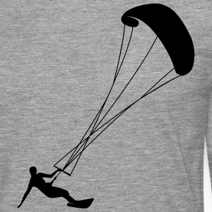Kite surf cerf-volant Tee shirts - T-shirt manches longues Premium Homme