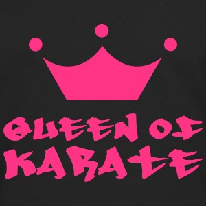 Queen of Karate Gensere - Premium langermet T-skjorte for menn