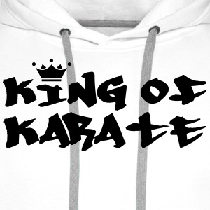 King of Karate T-shirts - Premiumluvtröja herr