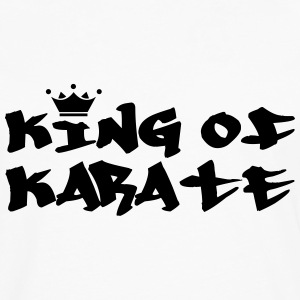 King of Karate T-skjorter - Premium langermet T-skjorte for menn