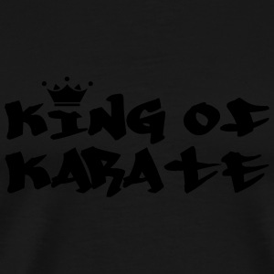 King of Karate Flessen & bekers - Mannen Premium T-shirt