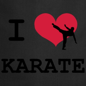 I Love Karate Tee shirts - Tablier de cuisine