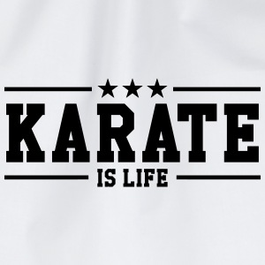 Karate is life Petten & Mutsen - Gymtas