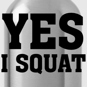 Yes I Squat Tee shirts - Gourde