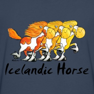 Three Funny Icelandic Horses Shirts - Men's Premium Longsleeve Shirt
