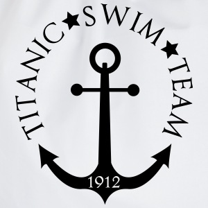 Titanic Swim Team 1912 Anchor Camisetas - Mochila saco