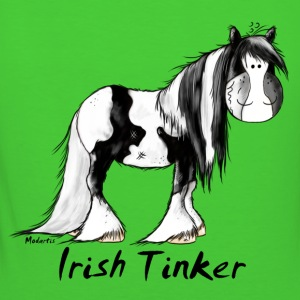 Grappige Ierse Tinker Paard - Pinto Sweaters - Vrouwen Bio-T-shirt