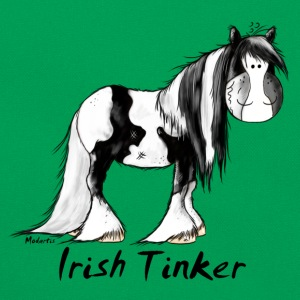 Funny Irish Tinker Horse - Pinto Shirts - Retro Bag