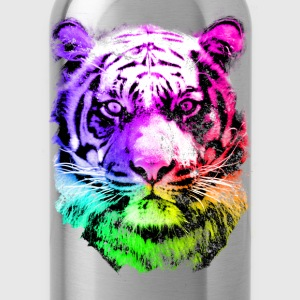 tiger - tigre - big cat - pshycho T-shirts - Drinkfles