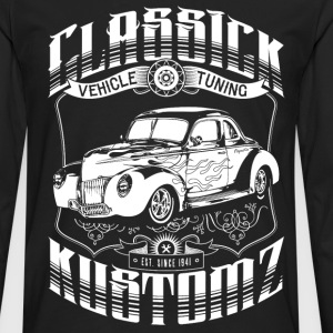 Hot Rod - Classick Kustomz (white) T-Shirts - Men's Premium Longsleeve Shirt