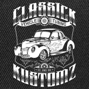 Hot Rod - Classick Kustomz (white) T-Shirts - Snapback Cap