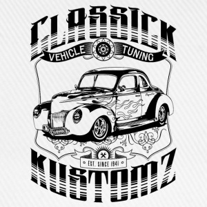 Hot Rod - Classick Kustomz (black) T-Shirts - Baseballkappe