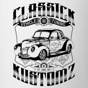 Hot Rod - Classick Kustomz (black) T-Shirts - Mug