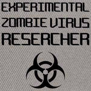 Experimental Zombie Virus Resercher Sweat-shirts - Casquette snapback