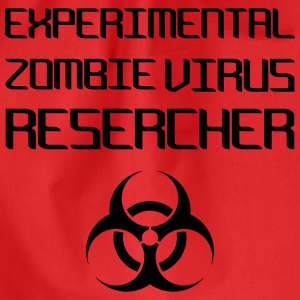 Experimental Zombie Virus Resercher Tops - Turnbeutel