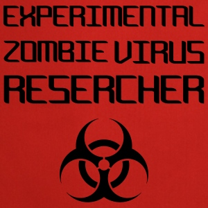 Experimental Zombie Virus Resercher Tops - Keukenschort