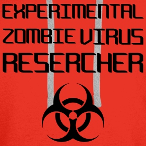 Experimental Zombie Virus Resercher Tops - Men's Premium Hoodie