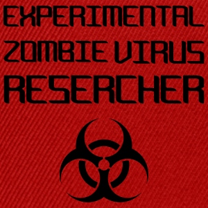 Experimental Zombie Virus Resercher Toppe - Snapback Cap