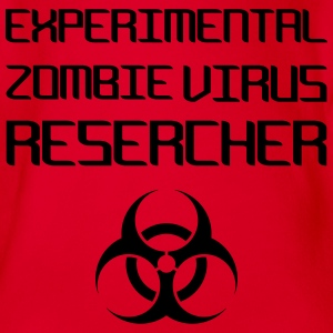 Experimental Zombie Virus Resercher Tee shirts - Body bébé bio manches courtes