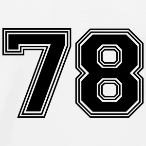 78_number_78_(s31) Other - Men's Premium T-Shirt