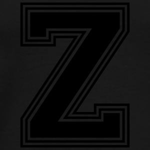 Z_letter_Z_(w31) Accessories - Men's Premium T-Shirt