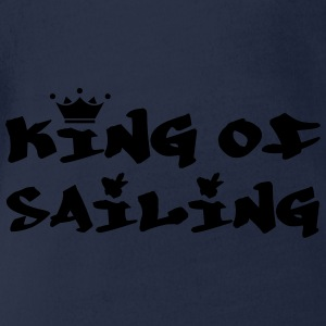 King of Sailing Shirts - Organic Short-sleeved Baby Bodysuit