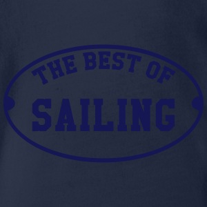 The Best of Sailing T-shirts - Ekologisk kortärmad babybody