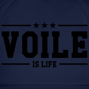 Voile is life Tee shirts - Casquette classique